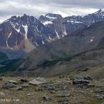 Terminal Mountain - Viewed from Whistlers Mountain - Canadian Rockies